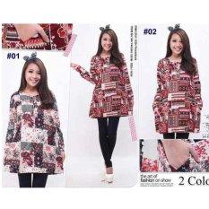 ... SB Collection Atasan Owl Tunik Blouse Biru Lazada Indonesia Source SB Collection Atasan Wanita Blouse Zulaika