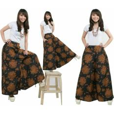 168 Collection Celana Cantika Kulot Batik Pant Coklat Models And Source SB Collection .