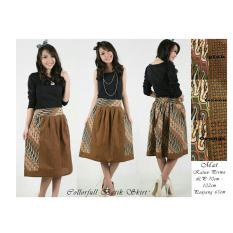 SB Collection Rok Pendek Colorful Batik Skirt-Pink