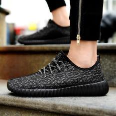 Seanut Men's Casual Shoes Men Shoes Low Cut Fashion Sneaker (Black) - Intl