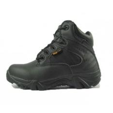 Sepatu Army Delta Tracking Shoes Tactical Pendek - Hitam