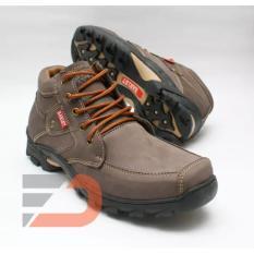 Sepatu Casua Boot Kulit