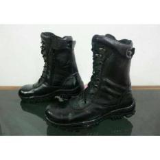 Sepatu Crocodile Boots Pdl Safety Pdh Boot Pria Kulit Asli