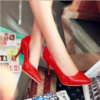 Sepatu High Heels Pump Wanita TB41 - Merah