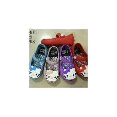 Sepatu Karet Jelly Anak Bayi Perempuan Cewe Hello Helo Kitty Kity 123