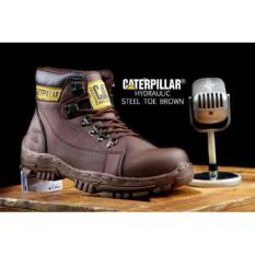 Sepatu Kulit Caterpillar Boots 001