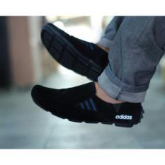 Sepatu Pria Casual Slop Adidas 3D-Black
