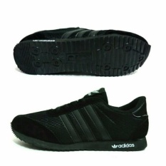 Sepatu sekolah hitam anak - Full Black
