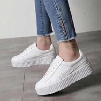 Sepatu Wanita Kets Yutaka Marlee Putih
