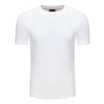 Simple Style Man T Shirt Cotton, S-XXXL Size, White - Intl