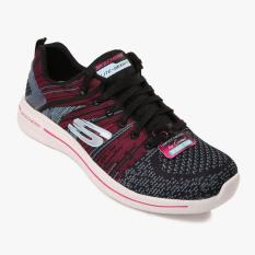 Skechers Burst 2.0 Women's Training Shoes - Hitam-Merah