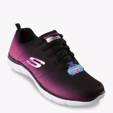 Skechers Flex Appeal 2.0 Ombre Women's Running Shoes - Hitam-Pink