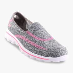Skechers GOwalk 2 Relay Girls' Sneakers - Abu-abu