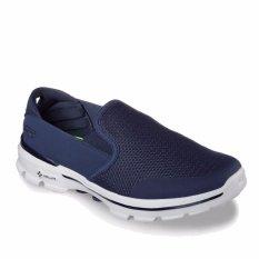 Skechers GOwalk 3 - Charge - Sepatu Pria - Navy