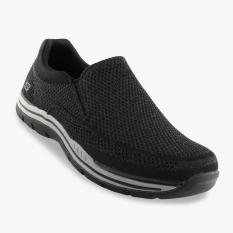 Skechers Relaxed Fit Expected Gomel Men's Sneakers - Hitam