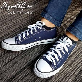 Skywalkgear Comfy Men Sepatu Sneakers Pria - 171 D.Blue