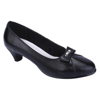 Special Price Sepatu Kulit Heels Wanita - Hitam