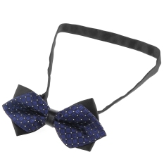 Stylish Jacquard Plaid Design Bow Tie For Business Men