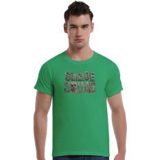 Suicide Squad Dead Cotton Soft Men Short T-Shirt (Olive)
