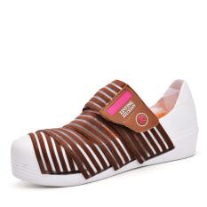 Summer Fashion Women Casual Shoes Rattan Weaving Women Platform Shoes (Brown) - Intl