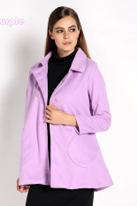 Sunweb Fashion Long Coat Korean Upper Garment Women Candy Colors Coat (Intl)