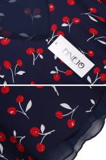 Sunwonder New Stylish Ladies Women Casual Chiffon V Neck Cherry Print Vest