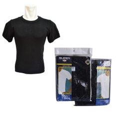Super Rider R223BW Tshirt- Hitam - Kaos Dalam Pria