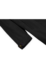 SuperCart ANGVNS Stylish Ladies Women Front Zip Long Sleeve Hoodie Windcoat Trench Coat Jacket (Black) (Intl)