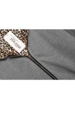 SuperCart Meaneor Stylish Ladies Women Casual Long Sleeve Solid Pocket Zipper Hoodie Sweatershirt Leisure Coat Outwear (Dark Grey) (Intl)