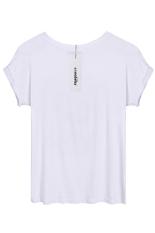 SuperCart Zeagoo Ladies Women Casual Leisure Batwing Short Sleeve O-neck Top T-shirt (White) (Intl)