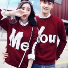 JAKARTA COUPLE SWEATER COUPLE SOULMATE ABU BIRU. Spek Dan Harga Jakarta Couple Sweater Couple Forever Maroon Source · Sweater Couple You Me Maroon