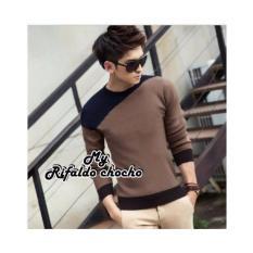 sweater rajut pria Rifaldo coco terbaru