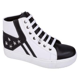 Syaqinah Sepatu Boots Wanita - Putih