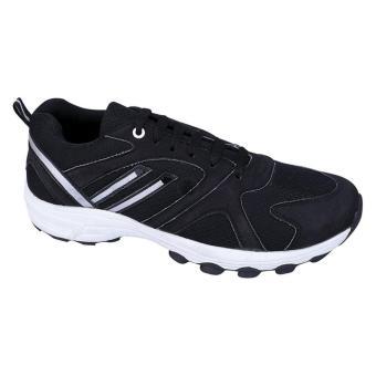 Syaqinah Sepatu Running Pria - Hitam