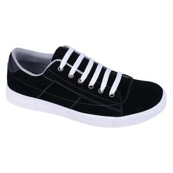 Syaqinah Sepatu Sneakers - Hitam