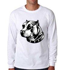 Sz Graphics Bulldog T Shirt Long Sleeve Pria Kaos Lengan Panjang Pria Kaos .