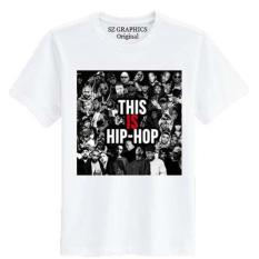Sz Graphics / Hip Hop / T Shirt Pria Wanita / Kaos Pria Wanita / T Shirt Fashion Pria Wanita / T Shirt Distro Pria Wanita Kaos Distro Pria Wanita-Putih