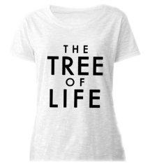 Sz Graphics Tree Of Life T Shirt Wanita Kaos Slub - Putih