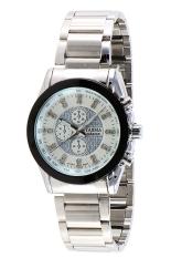 Tajima Analog 3024 GB-A01 - Jam Tangan Wanita - Putih - Stainless Steel