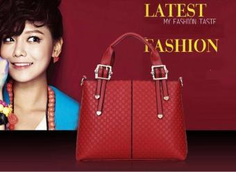 Tas Handbag Luxury 23276 Wine Red Wanita Import