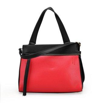 Tas Handbag Wanita Luxury 23366 Red Import