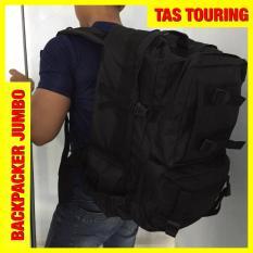 Tas Touring Tactical Hitam Ransel Jumbo Z0156A