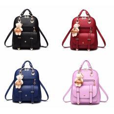 Tas Wanita Ransel Selempang Branded Import Korea - Doll Backpack