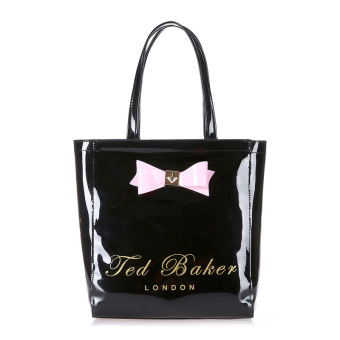 Ted Baker Woman Fashion Shopping Bag Casual Handbag Candy Tote Bag (Black)