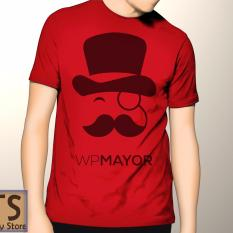 Tismy Store Kaos WPMayor PC1 - Merah