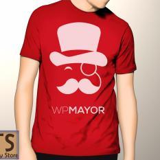 Tismy Store Kaos WPMayor PC2 - Merah