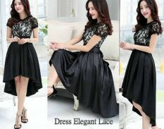 TOKOKU Dress Ardila - YU (Hitam)