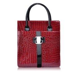Toprank Europe Luxury OL Ladies Pattern Handbag Tote Shoulder Bag - Intl