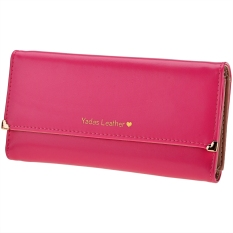 Toprank New Fashion Women's Long Wallet Button Clutch Purse Long Handbag - Intl
