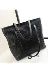 Toprank Women Handbags Fashion Women Bag Style Shoulder Handbags For Female (Black)